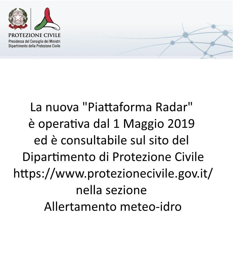 Radar Protezione Civile