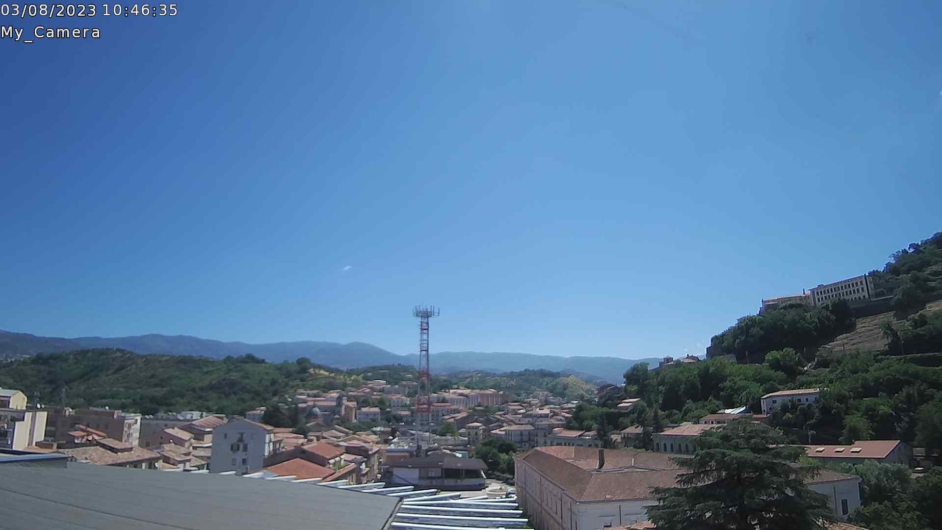 Webcam di Cosenza Sud