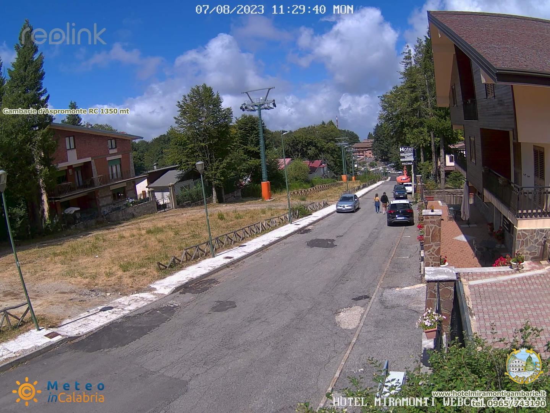 Webcam di Gambarie