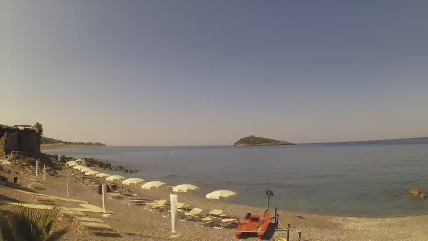 Webcam di Diamante - Isola di Cirella