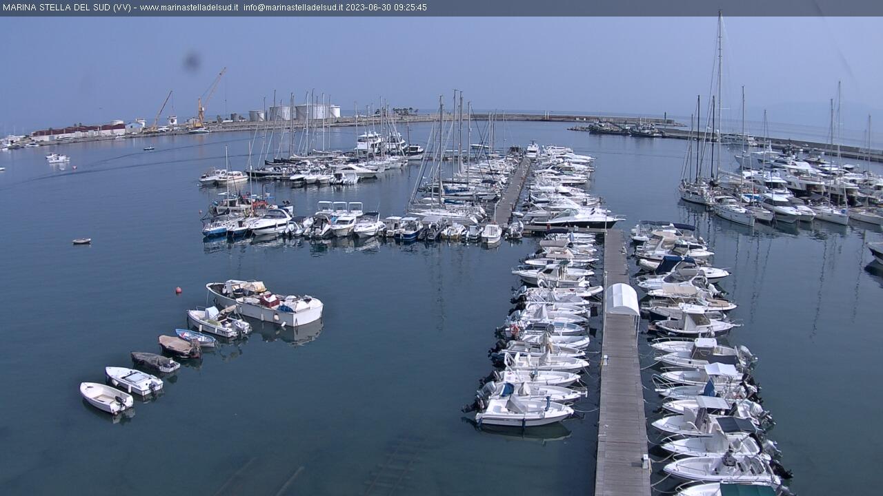 Webcam di Vibo Marina (Marina Stella del Sud)