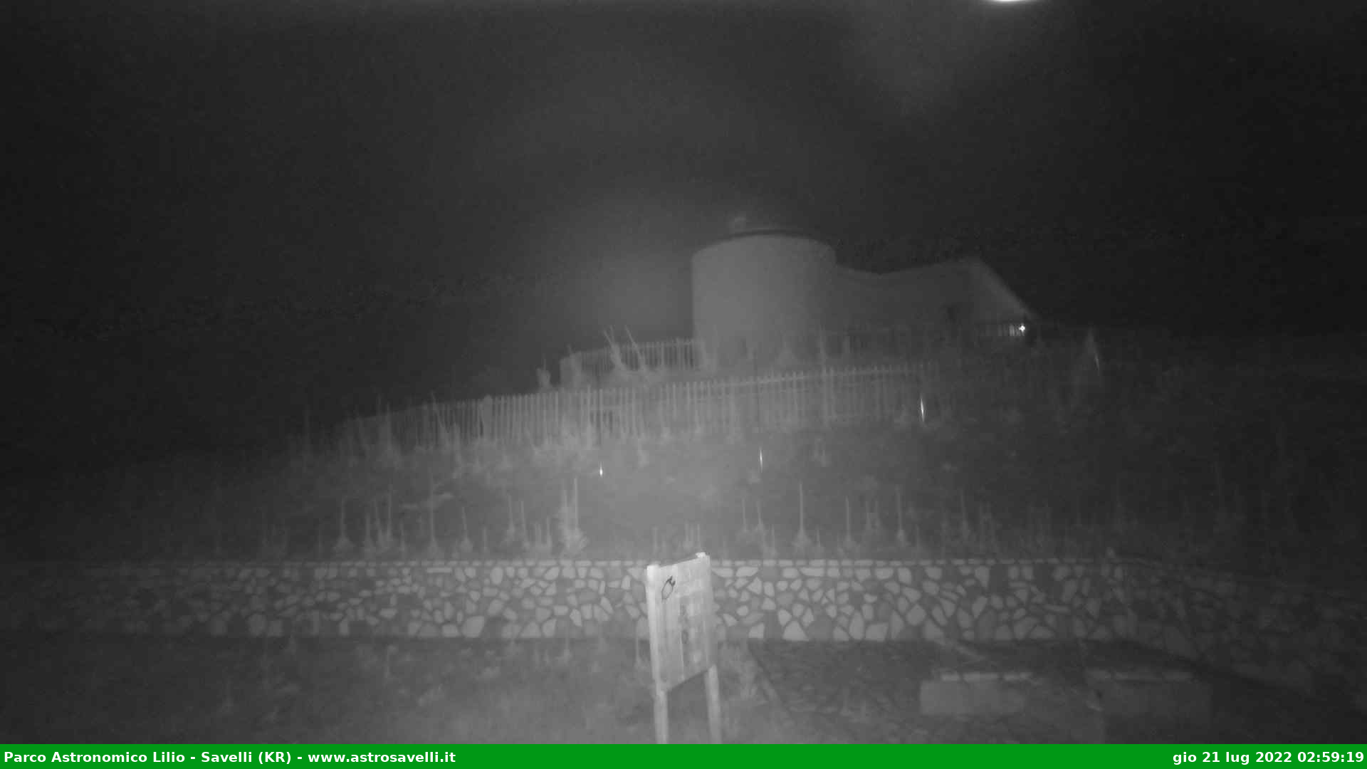 Webcam di Savelli - Parco Astronomico