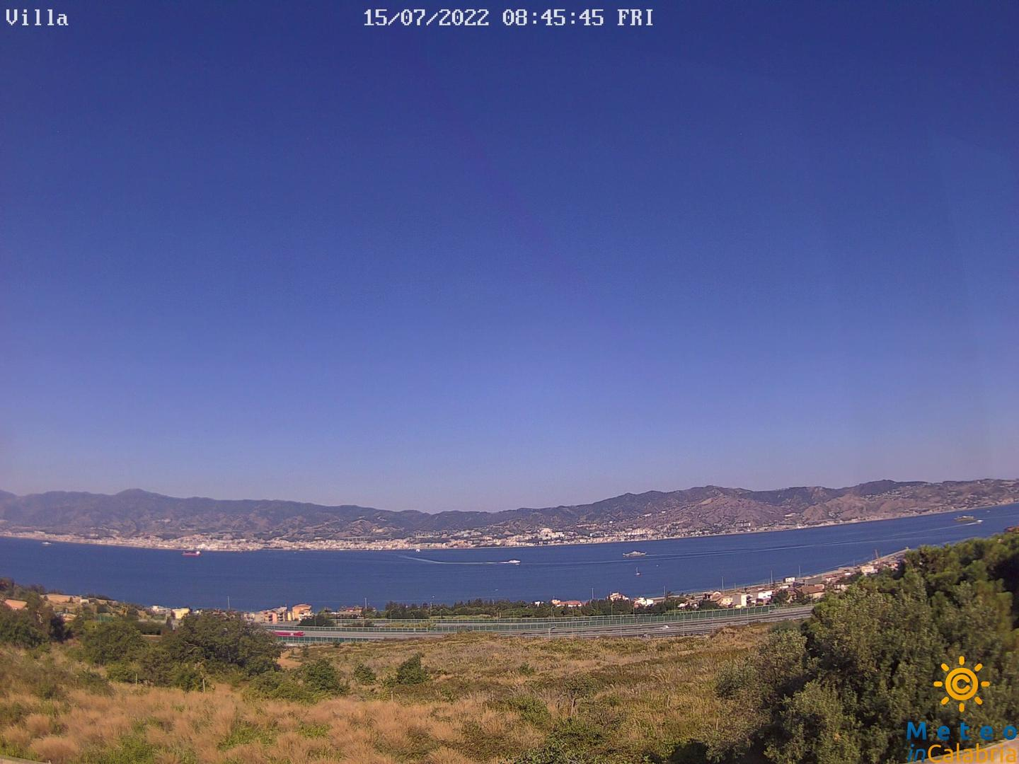 Webcam di Villa San Giovanni