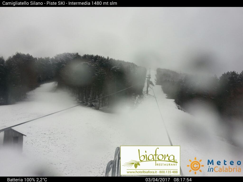 neve sui monti calabresi