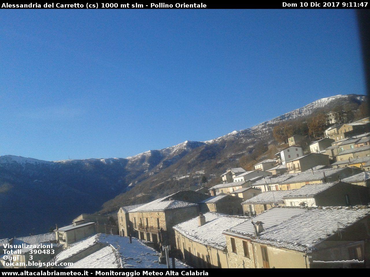 Domenica sulla neve dei monti calabresi