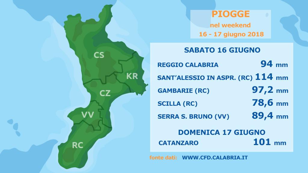 Continuerà l'instabilità sulla Calabria