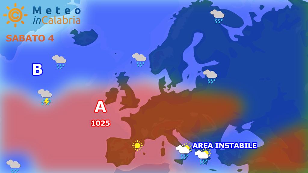 Meteo weekend: ancora instabilità diffusa
