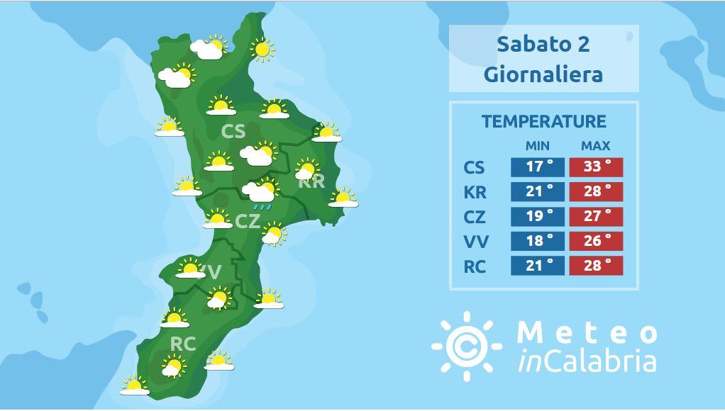 Weekend bello e caldo sulla Calabria