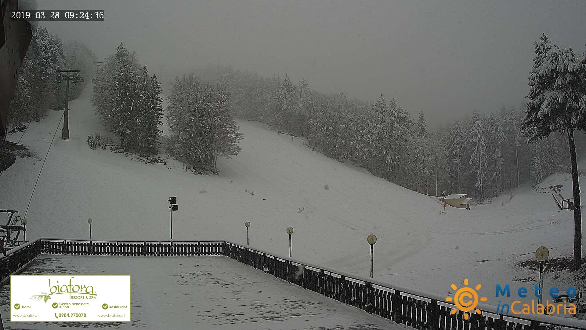nevicate su Sila e Pollino