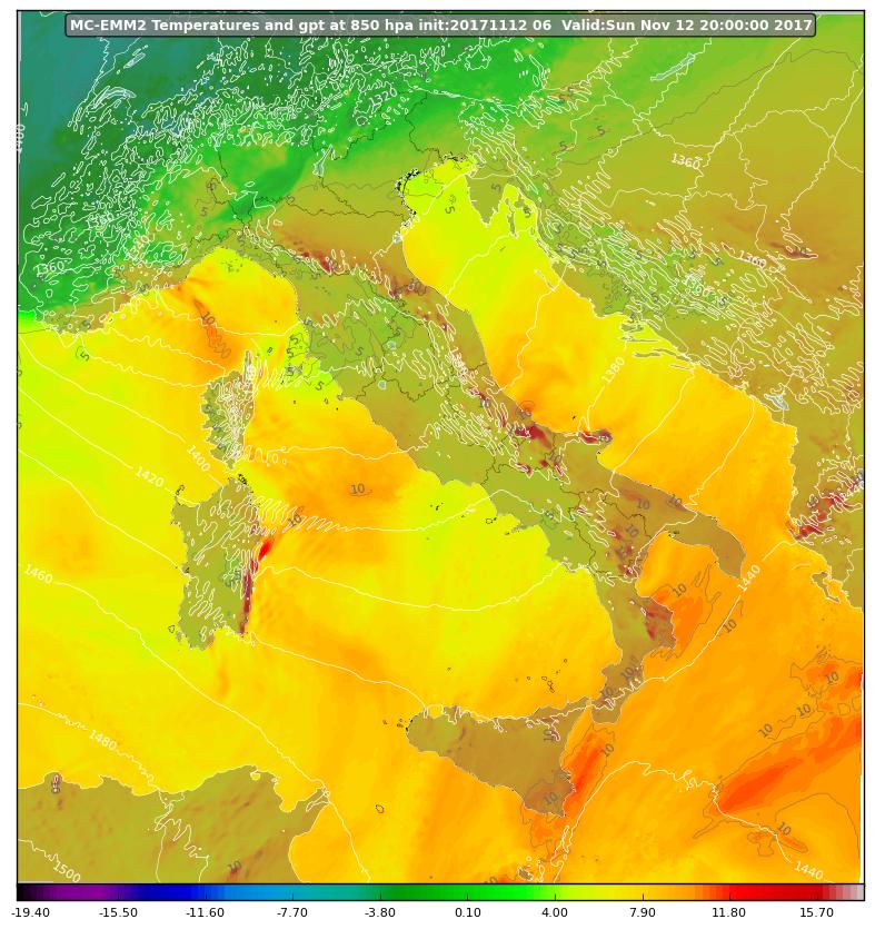 Il peggioramento di lunedì sulla Calabria