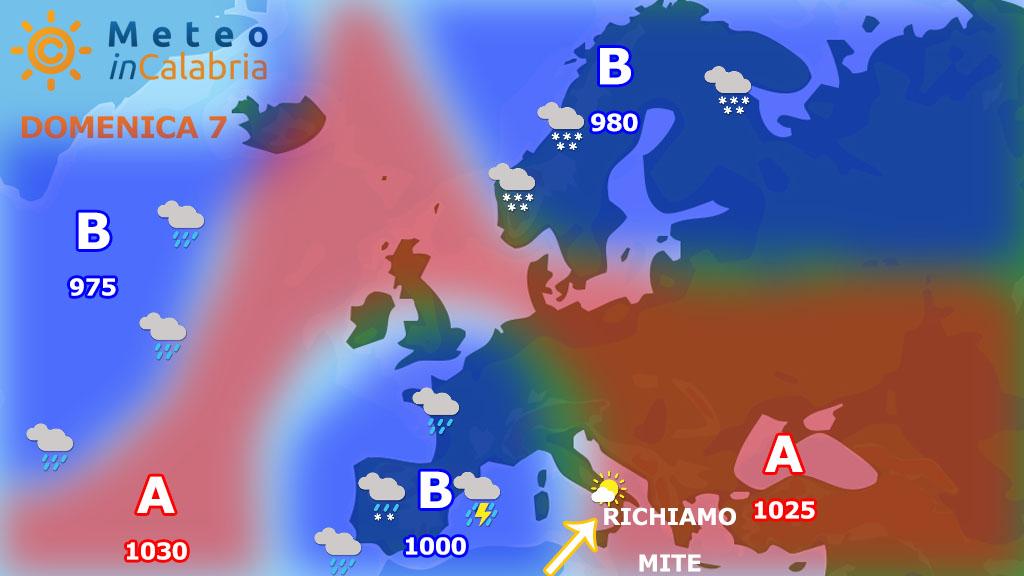 Scirocco e clima primaverile
