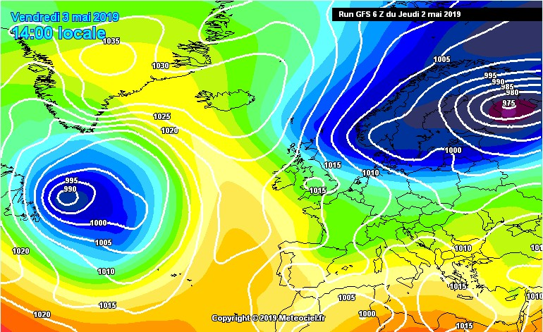 In arrivo aria fredda in arrivo dalla Scandinavia