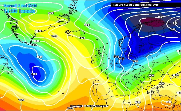 crollo delle temperature tra domenica e lunedì