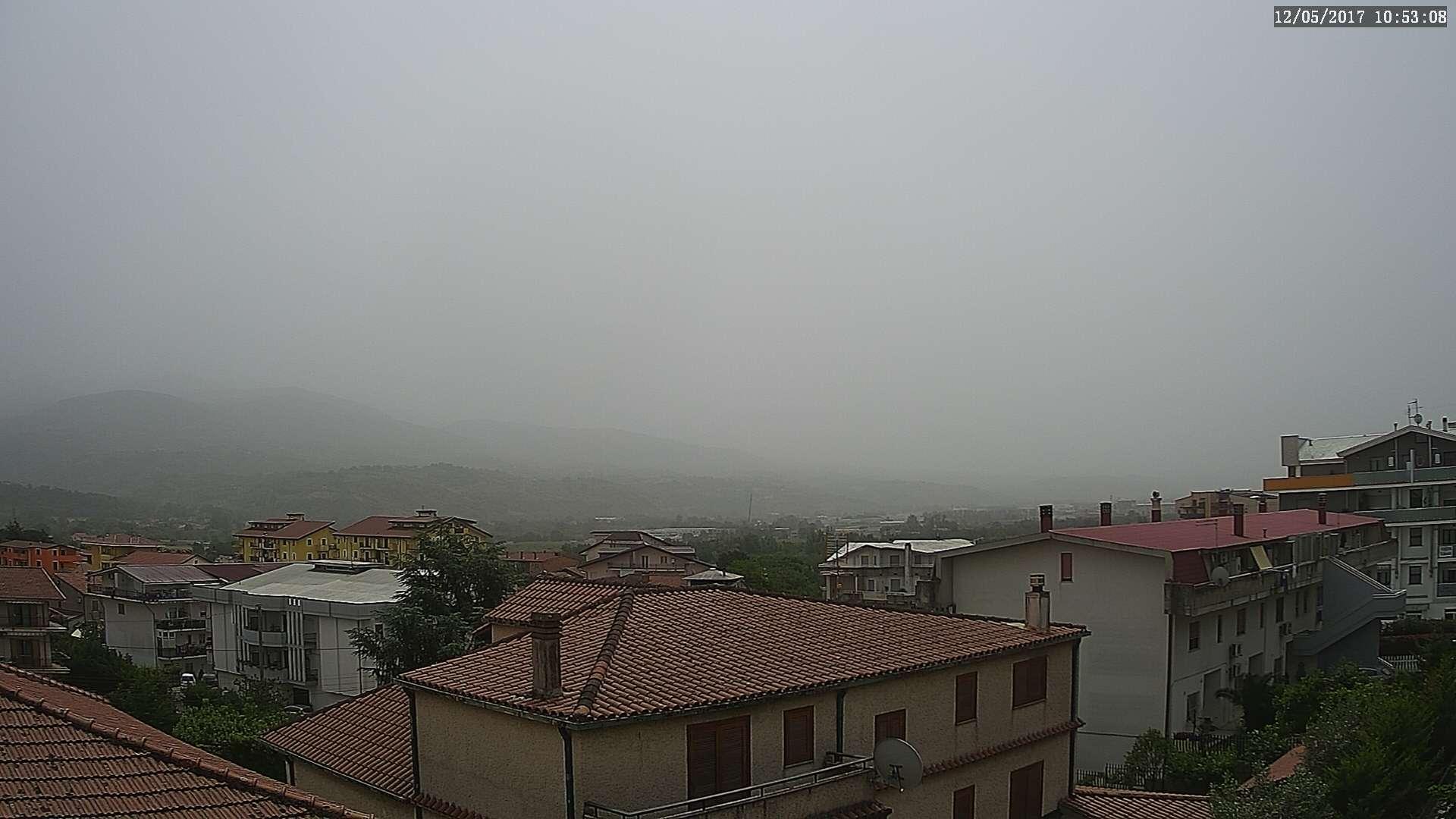 La Calabria sotto cieli sporchi