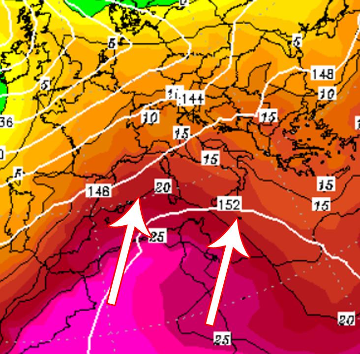 Torna l'alta pressione...poi caldo Africano?!