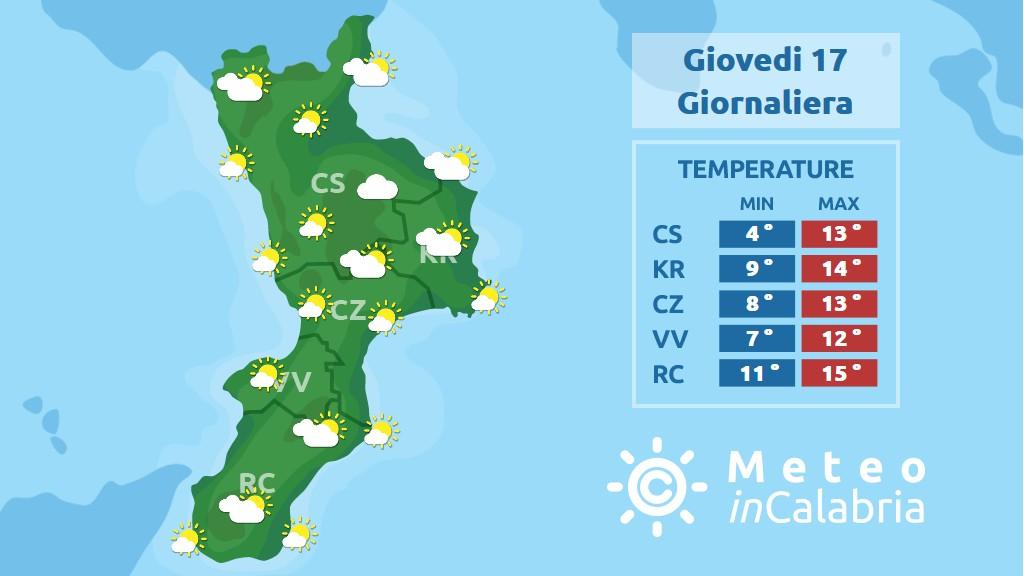 Arriva un po di freddo in quota sulla Calabria