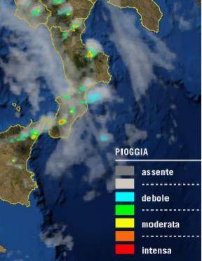 La Calabria alle prese con temporali