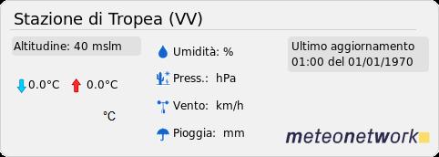 Stazione meteo di Tropea