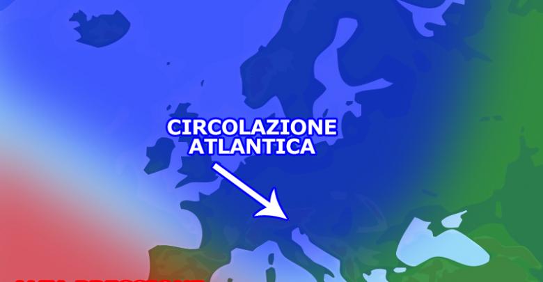 Nel medio e lungo termine perturbazioni atlantiche in vista