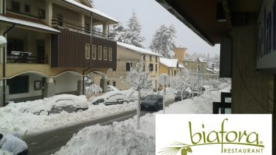 Le nevicate di stanotte in Calabria!!!