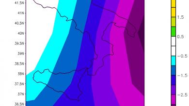 Le anomalie della settimana scorsa: freddo e poca pioggia