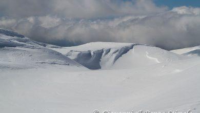 Il nevaio del Pollino, oggi. Ecco le immagini spettacolari