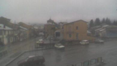 La nevicata a Serra San Bruno di stanotte