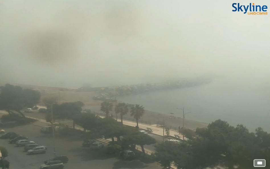 Calabria quasi ovunque sotto il caldo africano. Perchè sui litorali ionici no?