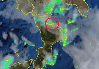 Temporale autorigenerante su Corigliano e Rossano: ecco le animazioni del radar