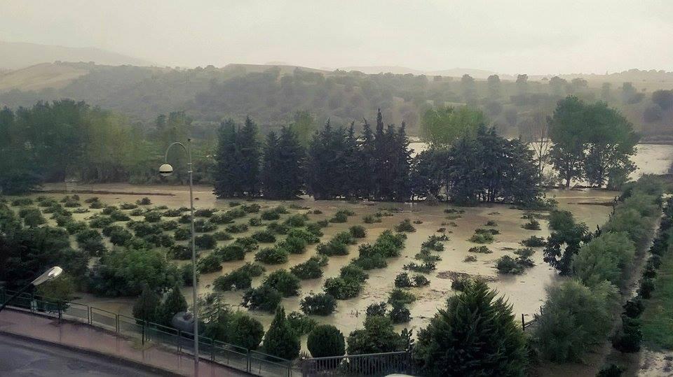 Venerdì con oltre 100mm di pioggia sul Pollino orientale
