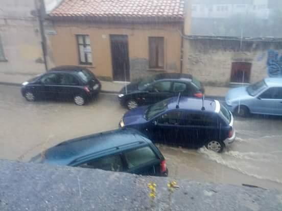 Piogge intense stamani, allagamenti a Catanzaro!