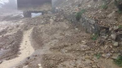 Dissesto idrogeologico sull'Alto Ionio cosentino: le immagini