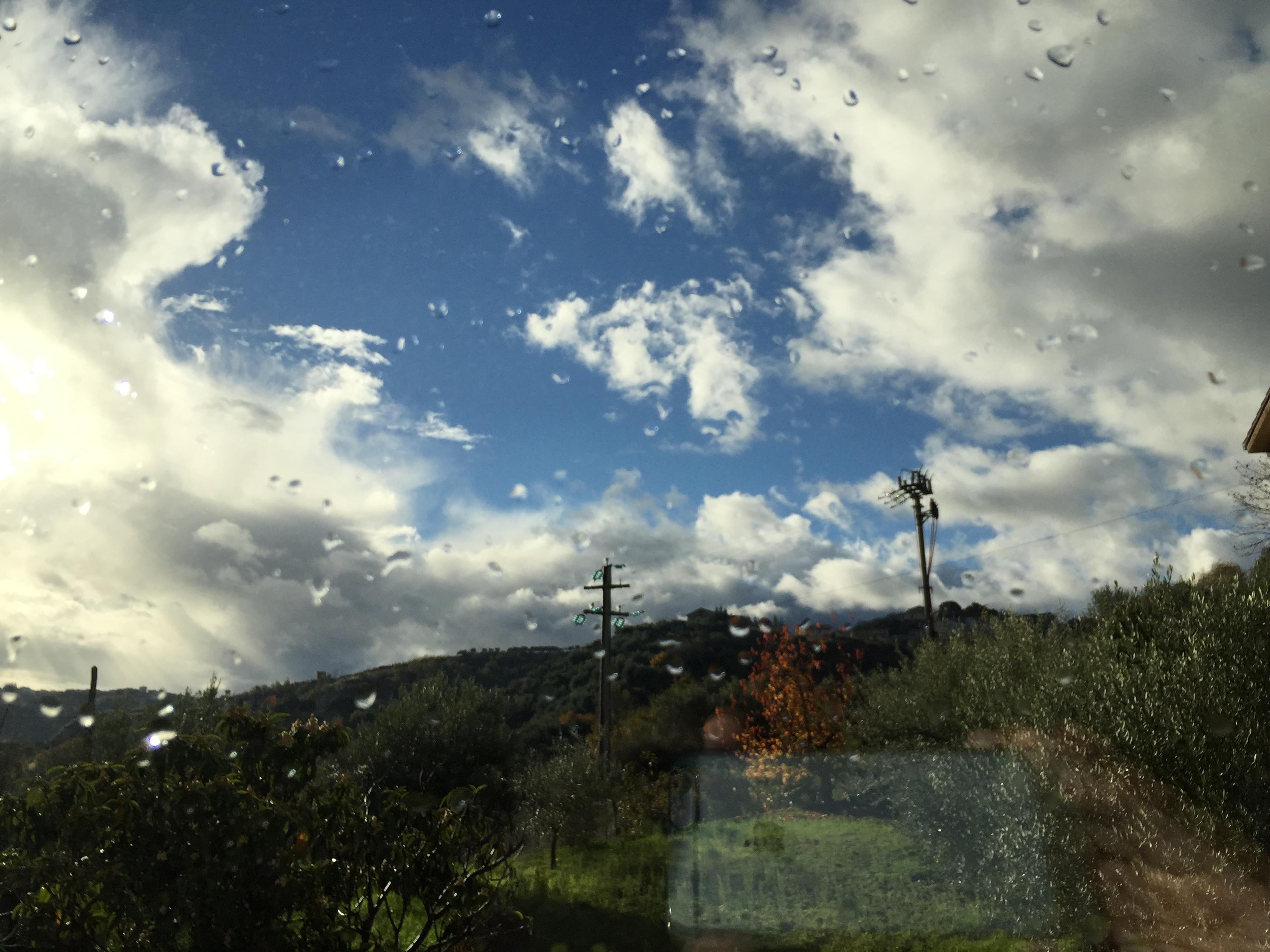 Residua instabilità, poi da lunedì bel tempo quasi ovunque....