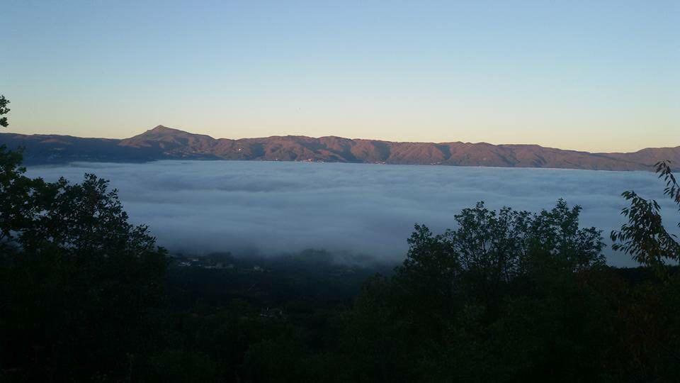 Gli scherzetti dell'alta pressione: bello in montagna, brutto a valle....