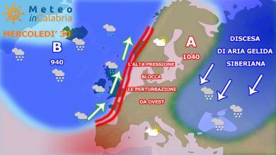 Aggiornamento: il tempo di domani e di San Silvestro...
