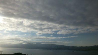 Nubi sparse e un leggero calo delle temperature...