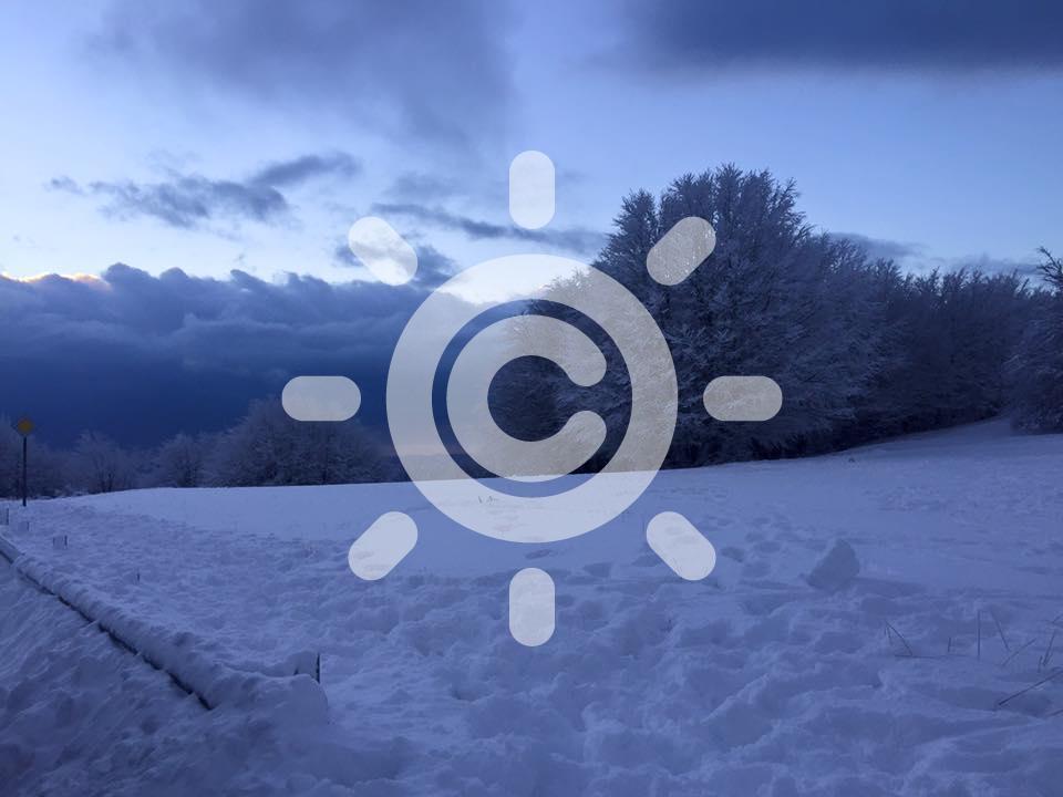 Calabria al GELO: i termometri crollano sottozero
