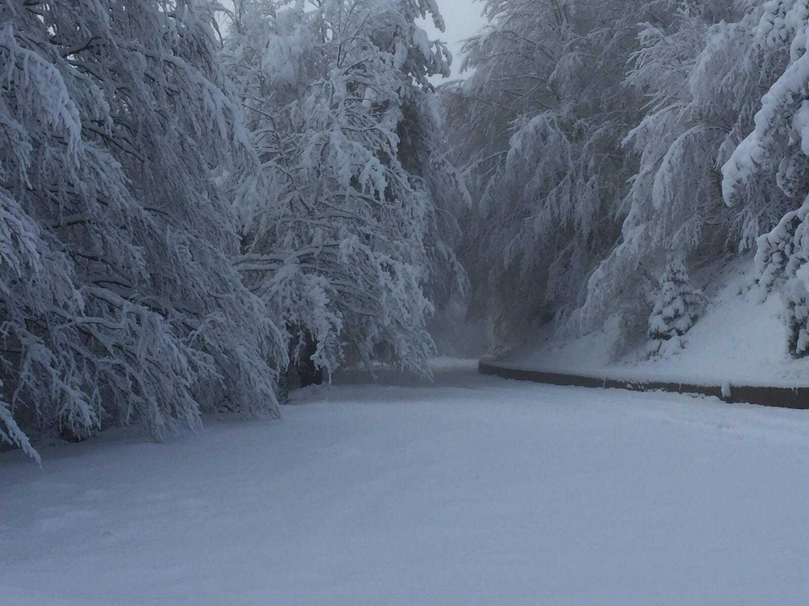 Temporaneo calo termico e neve sui monti dalla serata di domani