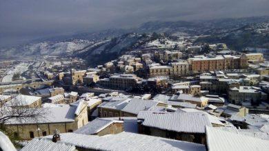 La magia di un giorno di neve a Cosenza