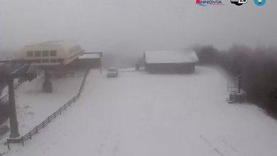 Ecco l'antipasto: nevicate in atto sui monti calabresi!