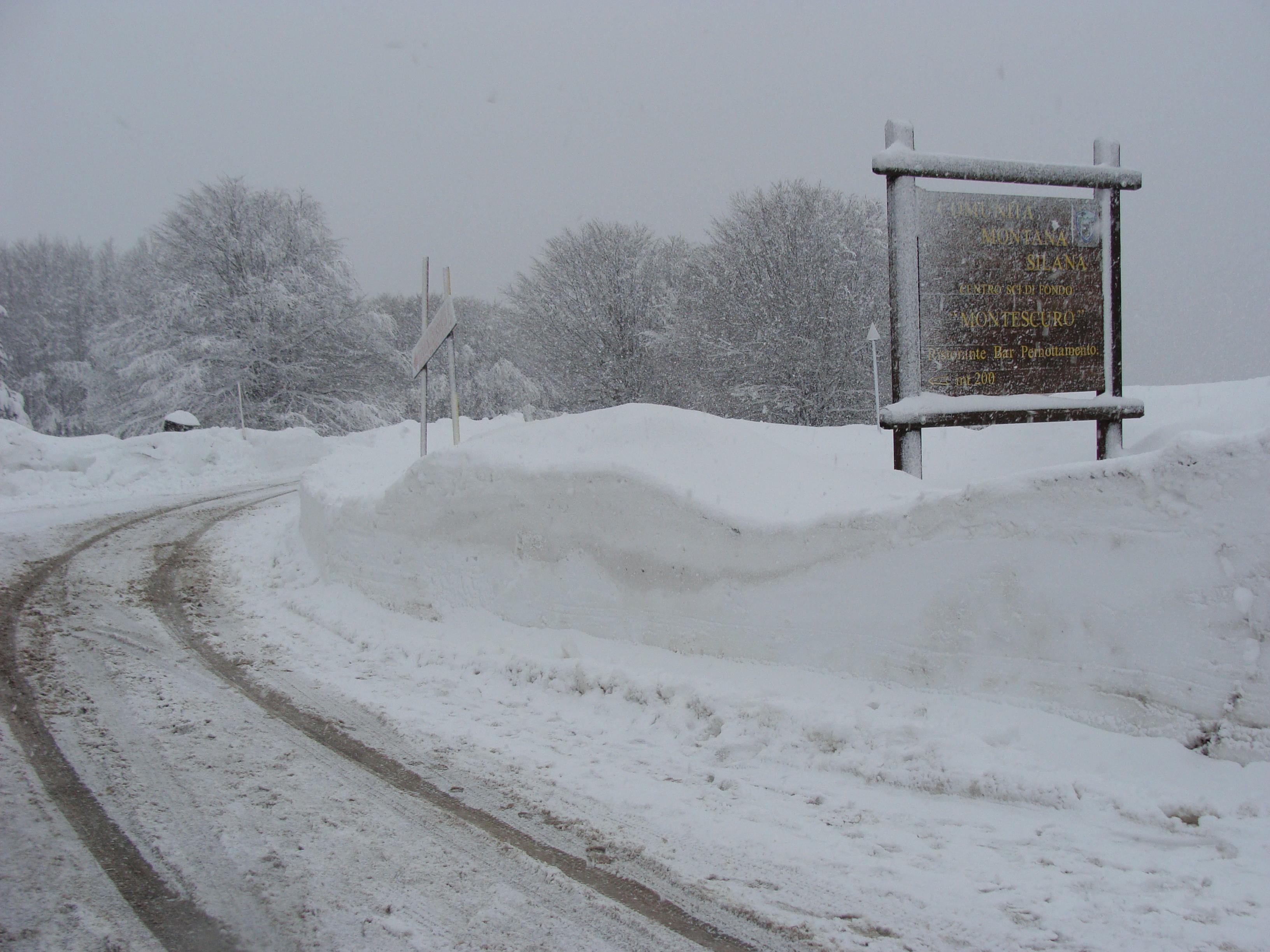 Weekend Artico: arrivano freddo e neve!