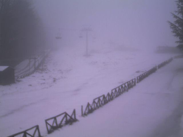 Risveglio bianco sui monti: da domani aumento temperature