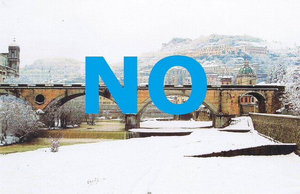 Nel weekend la neve NON imbiancherà Cosenza!