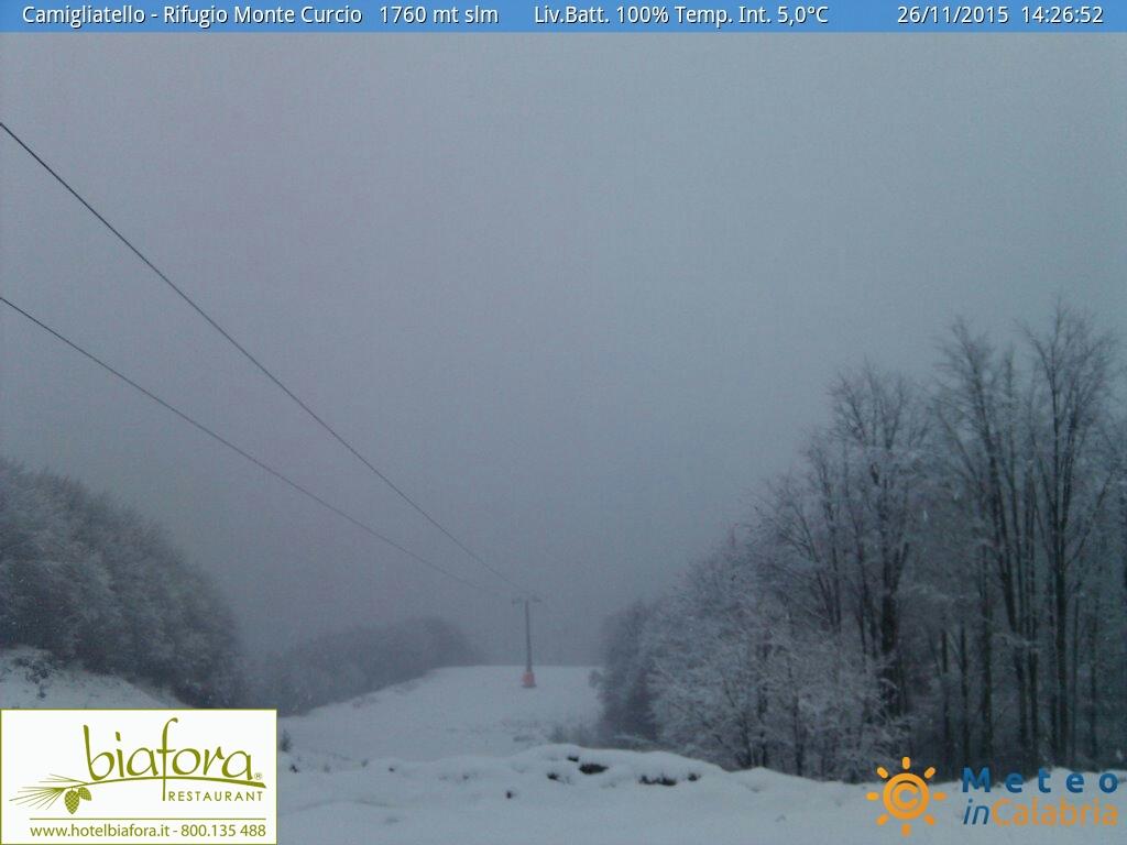 Peggiora nelle prossime ore: torna la neve ad alta quota!