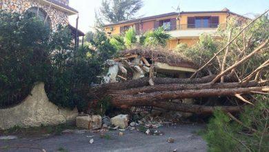 Scirocco con raffiche fino a 100 km/h. Un morto in provincia di Reggio Calabria. In tarda serata vento in attenuazione.