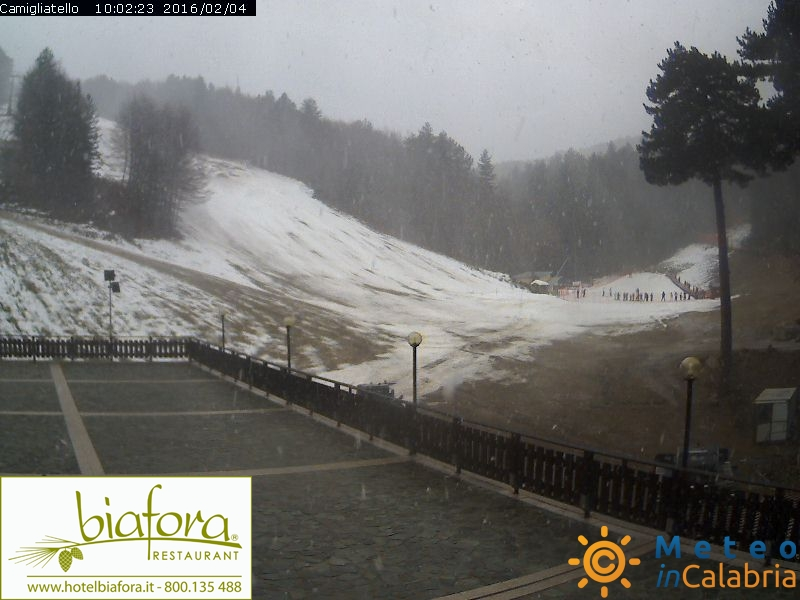 Meteo live: Fiocchi di neve in Sila, instabilità diffusa, temperature in calo