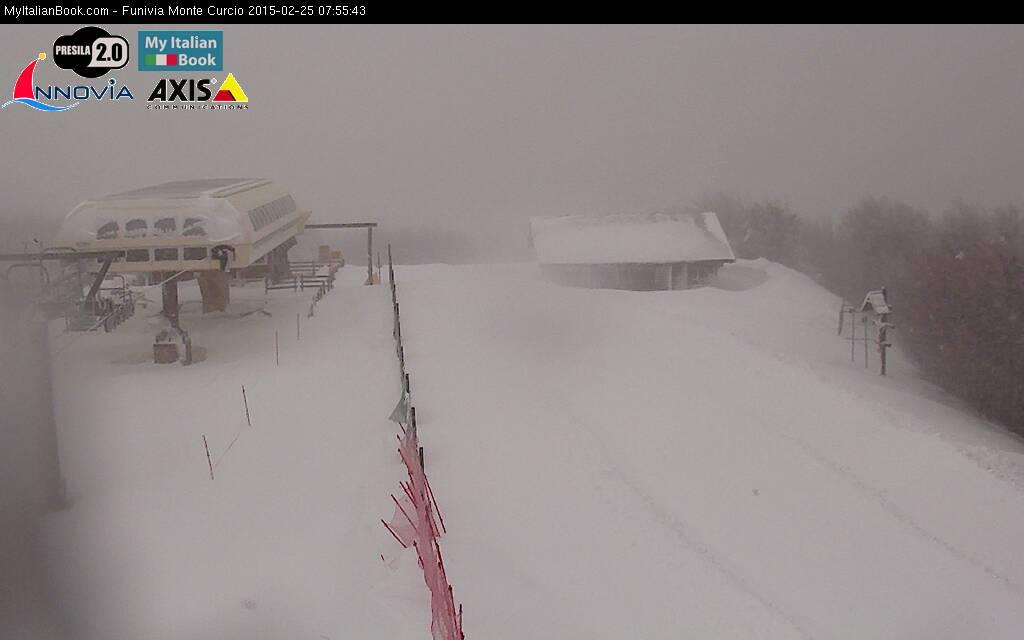 Ricompare l'inverno: sensibile calo termico e spruzzate di neve sui monti