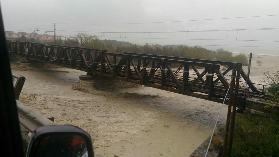 Ieri pesante giornata di maltempo: neve, piogge e fiumi in piena!