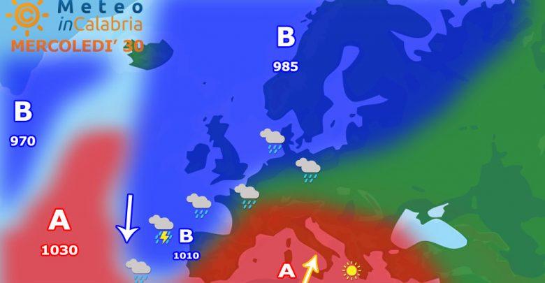 Torna l'Africano con temperature che punteranno a valori pre-estivi