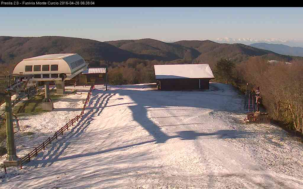 Notte invernale: 6 gradi sottozero in Sila! Ma da oggi si cambia registro.